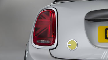 MINI Electric - rear light close-up