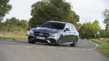 The E 63 Estate crowns a range of cars that's more known for its comfort than its performance