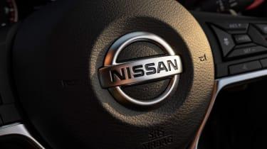 Nissan Juke SUV steering wheel