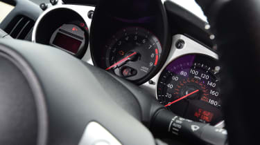 Nissan 370Z coupe instrument cluster