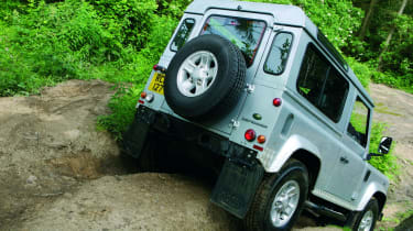 Land Rover Defender rear