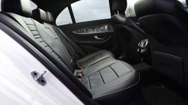 Mercedes E-Class hybrid rear seats