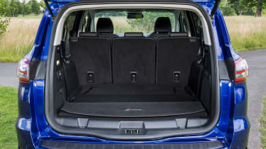 Folding the rear two seats frees up an impressive 700 litres of space in the boot.