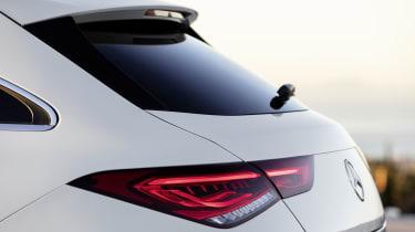 2019 Mercedes CLA Shooting Brake - close up rear