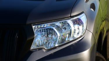 Toyota Land Cruiser Utility headlight