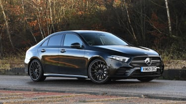 Mercedes-AMG A 35 Saloon front 3/4 static