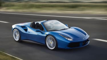 If you want a roofless 488, simply hand Ferrari an extra £20,000 over the coupe and they'll build you one