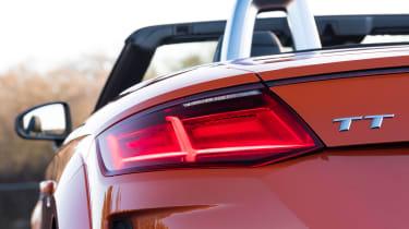 audi tt roadster convertible rear light