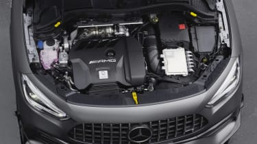 Mercedes-AMG GLA 45 S SUV engine