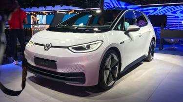 Volkswagen ID.3 - front 3/4 view - 2019 Frankfurt Motor Show