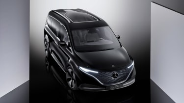 Mercedes Concept EQT - front 3/4 bird's-eye