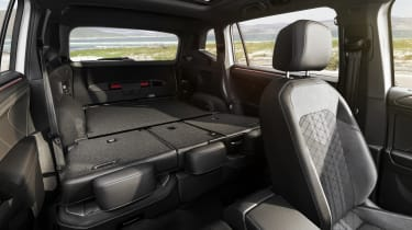 2021 Volkswagen Tiguan Allspace -  rear seats and boot space