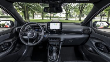 2020 Toyota Yaris - interior 2020 Toyota Yaris - Front 3/4 static