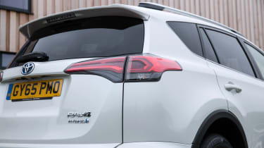The RAV4's interior is a sturdy as the rest of the car which was 20th out of 150 for reliability in our Driver Power survey