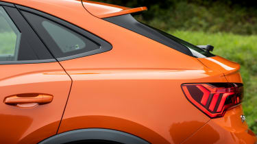 Audi Q3 Sportback SUV rear haunches