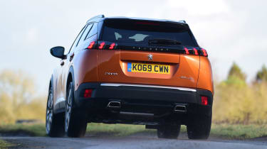 Peugeot 2008 SUV rear cornering