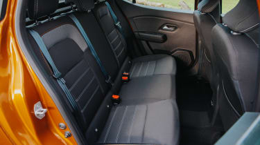 Dacia Sandero Stepway hatchback rear seats