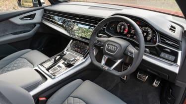 Audi SQ7 SUV steering wheel