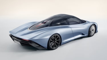 2020 McLaren Speedtail rear