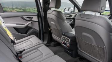 Audi Q7 S Line interior rear seats