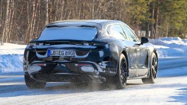 Porsche Taycan Sport Turismo rear end