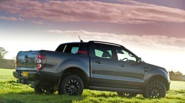 Ford Ranger Thunder - static rear view
