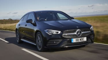 Mercedes CLA Shooting Brake driving
