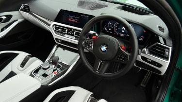 BMW M3 Competition saloon - interior