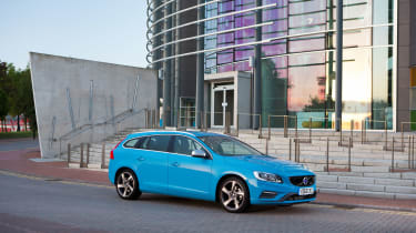 The Volvo V60's D4 diesel engine is very efficient and cheap to run