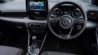 Toyota Yaris hatchback interior