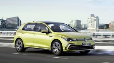 2020 Volkswagen Golf R-Line driving