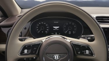 2020 Bentley Bentayga SUV - steering wheel