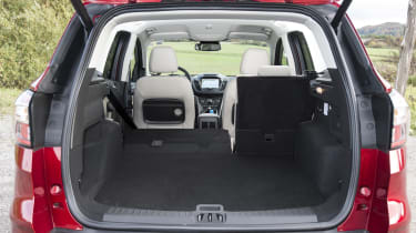 The bootspace is pretty much on a par with the Renault Kadjar