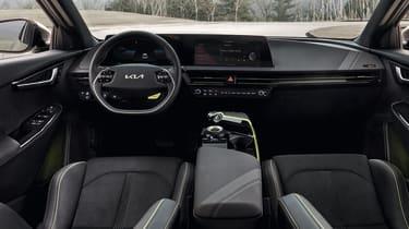 2021 Kia EV6 e-GT - interior