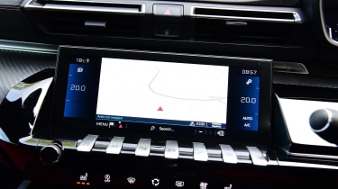 Peugeot 508 SW estate sat-nav