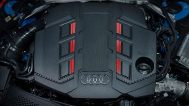 Facelifted Audi S4 - engine