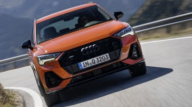The range-topping 227bhp 45 TFSI model can do 0-62mph in 6.3 seconds.