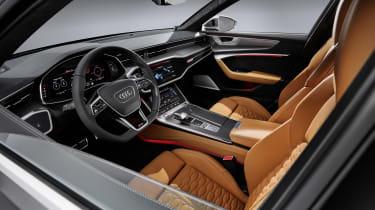 Audi RS6 Avant interior side
