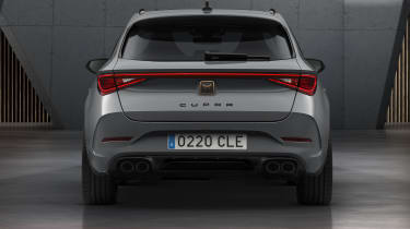 Cupra Leon estate - rear view