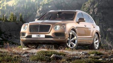 The Bentley Bentayga