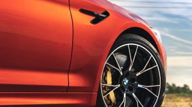 2021 BMW M5 Competition saloon - front alloy wheel