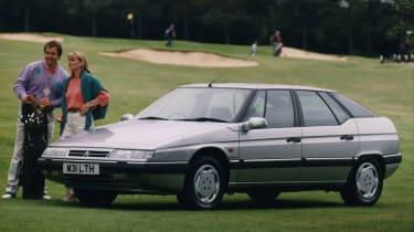 Classic Citroen XM golf course advert - credit: Media Citroen International