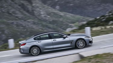 BMW 8 Series Gran Coupe - side view panning