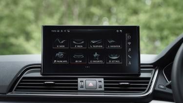 Audi Q5 Sportback SUV - infotainment