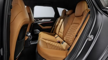 Audi RS6 Avant back seats