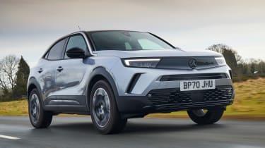 2021 Vauxhall Mokka - front low dynamic