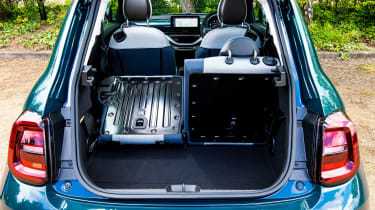 Fiat 500 electric boot