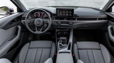 Audi A4 Avant estate interior