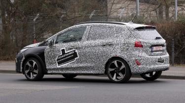 2021 Ford Fiesta prototype - side