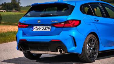BMW M135i rear end